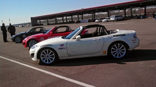BFG Rival at NOLA Motorsport Park, MX5 Skid Pad
